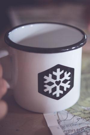 Schneeverliebt Tasse