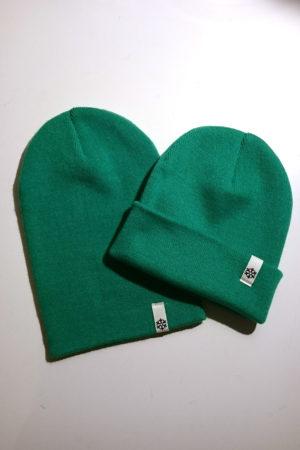 Schneeverliebt Beanie Grün