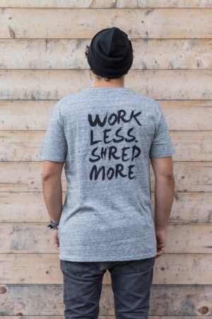 Work less shred more