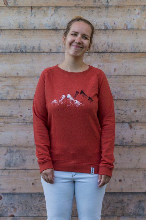 Schneeverliebt Mountain Pullover
