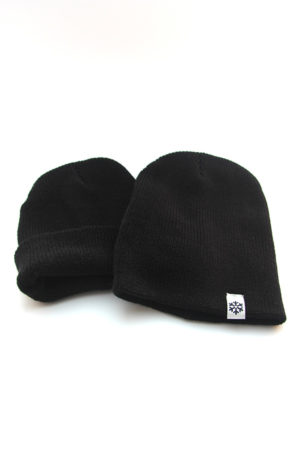 beanie-heather-black