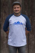 Schneeverliebt Baseball Shirt