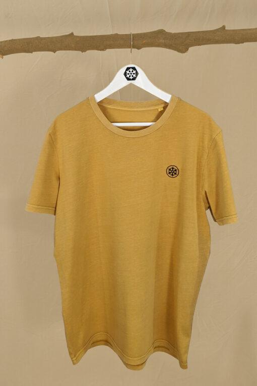 Faires und veganes Shirt mit Logo Stick