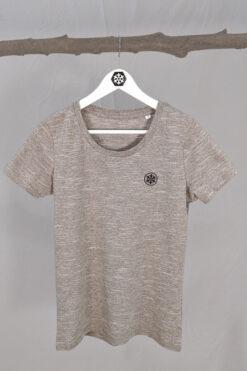 Schneeverliebt T-Shirt mit Stick