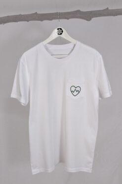 Schneeverliebt Shirt mit Brusttasche
