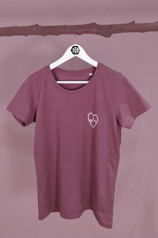 T-Shirt mit Herzaufdruck